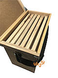 Ящик рамковий для 6-ти рамок Дадан або 12 полурамок (Рамконос), фото 5