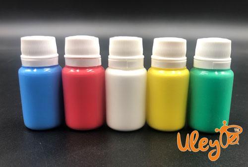 Набір фарб для мітки маток 5 кольорів (білий, червоний, синій, зелений, жовтий)