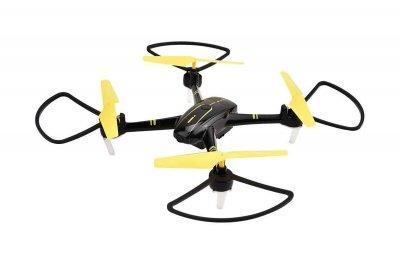 Квадрокоптер Helicute H828HW с камерой Wi-Fi и барометром чёрный SKL17-223424