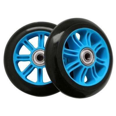 Колеса для трюкового самоката SportVida PP Abec 7 черно-голубой 100 мм PU SV-WO0014 SKL41-249514