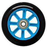Колеса для трюкового самоката SportVida PP Abec 7 черно-голубой 100 мм PU SV-WO0014 SKL41-249514, фото 2