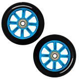 Колеса для трюкового самоката SportVida PP Abec 7 черно-голубой 100 мм PU SV-WO0014 SKL41-249514, фото 3