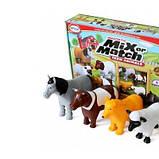 Пазл 3D Popular Playthings Mix or Match детский Магнитные животные, корова, лошадь, овца, собака SKL17-223454, фото 6