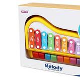 Ксилофон-пианино Baoli 8 тонов красный SKL17-223462, фото 2
