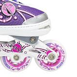 Роликовые коньки Nils Extreme розовые Size 39-42 NA1152A SKL41-227288, фото 9