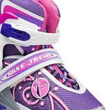 Роликовые коньки Nils Extreme розовые Size 39-42 NA1152A SKL41-227288, фото 10