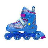 Роликовые коньки Nils Extreme синие Size 38-41 NJ4613A SKL41-227306, фото 6
