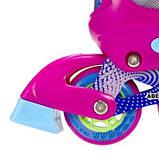 Роликовые коньки Nils Extreme розовые Size 38-41 NJ4605A SKL41-227316, фото 3