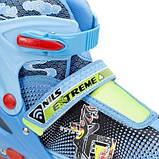Роликовые коньки Nils Extreme синие Size 38-41 NJ4605A SKL41-227321, фото 2
