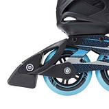Роликовые коньки Nils Extreme черно-синие Size 40 NA5003S SKL41-227346, фото 3