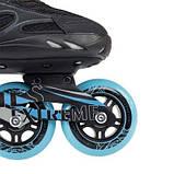 Роликовые коньки Nils Extreme черно-синие Size 40 NA5003S SKL41-227346, фото 4