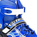 Роликовые коньки Nils Extreme синие Size 31-34 NJ1828A SKL41-227546, фото 4