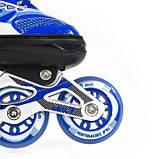 Роликовые коньки Nils Extreme синие Size 31-34 NJ1828A SKL41-227546, фото 8