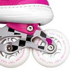 Роликовые коньки Nils Extreme розовые Size 39-42 NA13911A SKL41-227638, фото 5