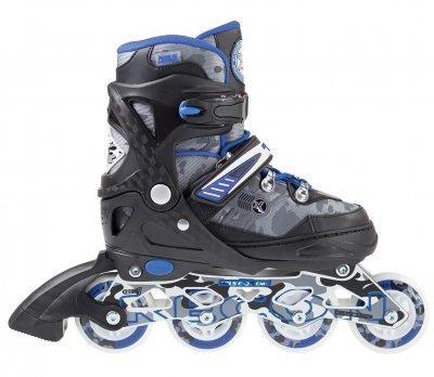 Роликовые коньки Nils Extreme Size 31-34 синие NA1118A SKL41-227639