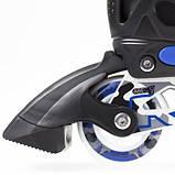Роликовые коньки Nils Extreme Size 31-34 синие NA1118A SKL41-227639, фото 3