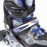 Роликовые коньки Nils Extreme Size 31-34 синие NA1118A SKL41-227639, фото 5