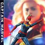 Фигурка Марвел, Капитан Марвел 18 см, Мстители Финал - Marvel, Captain Marvel, Avengers Endgame SKL14-207759, фото 4