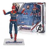 Фигурка Марвел, Капитан Марвел 18 см, Мстители Финал - Marvel, Captain Marvel, Avengers Endgame SKL14-207759, фото 5