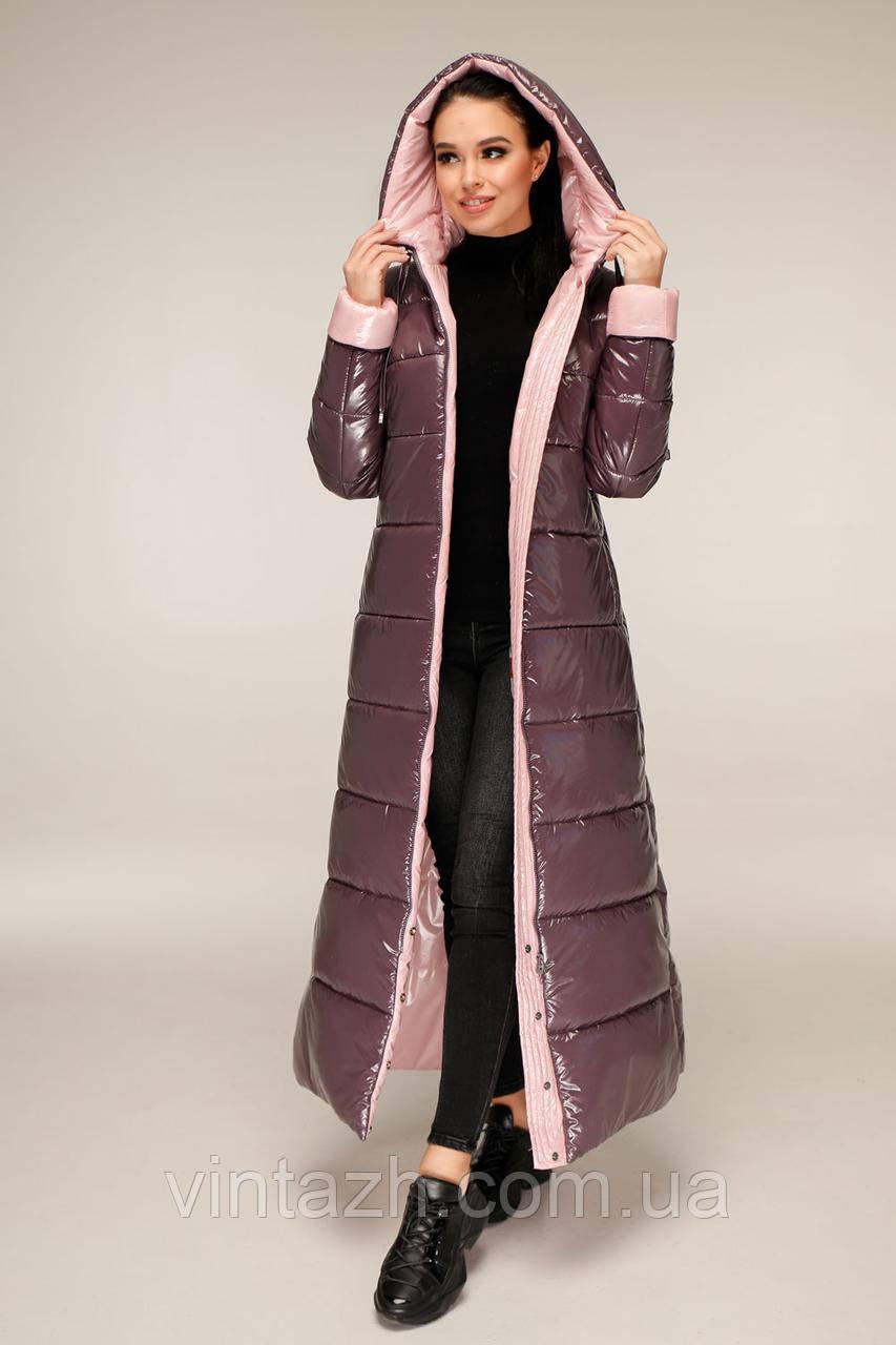 Стильное зимнее женское пальто размеры 44-58