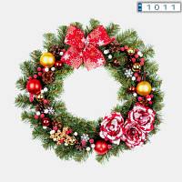 Рождественский венок 50см Краски Рождества 9234