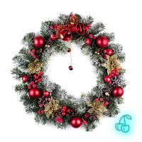 Рождественский венок 50см Лесная Сказка 9233