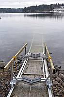 Слип, киль-блок для катера, стационарные и переносные.