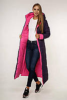 Женское тёплое зимнее пальто размеры 44-58
