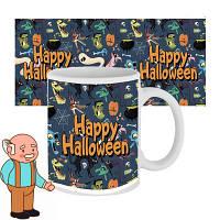 Чашка з принтом 63602 Happy Halloween мультяшки