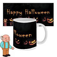 Чашка з принтом 63604 Happy Happy Halloween Pumpkin