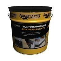Мастика битумная Гидроизоляция для фундамента Аквамаст (AquaMast) 18 кг