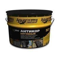 """Мастика битумно-полимерная """"Антикор"""" Аквамаст (AquaMast) 8 кг"""