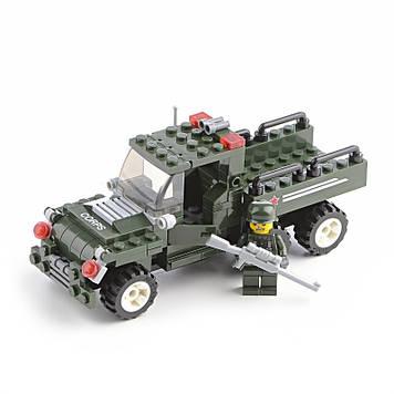 Конструктор Военный джип IM529