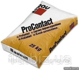 Клей для теплоизоляции Baumit Pro Contakt 25 кг/мешок