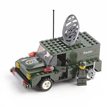 Конструктор Военный фургон с локатором IM531