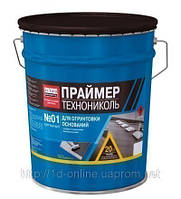 Праймер битумный (концентрат на уайт-спирите) ТехноНИКОЛЬ №01, 20 л