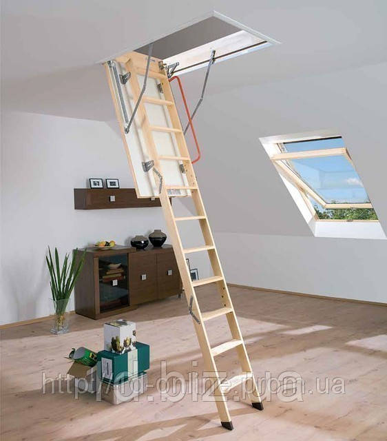 Лестница чердачная Факро (FAKRO) LWK-280 Комфорт 70х120 см
