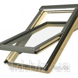 Мансардное окно Факро (FAKRO) FTS-V U2, 04 66x118 cм