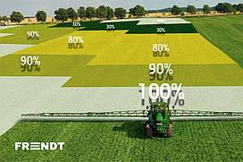 Оборудование для дифференцированного внесения удобрений (с переменной нормой)