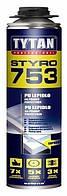 Пена-клей пистолетная для полистирола Титан (TYTAN) О2 Styro 753; 0.75 л