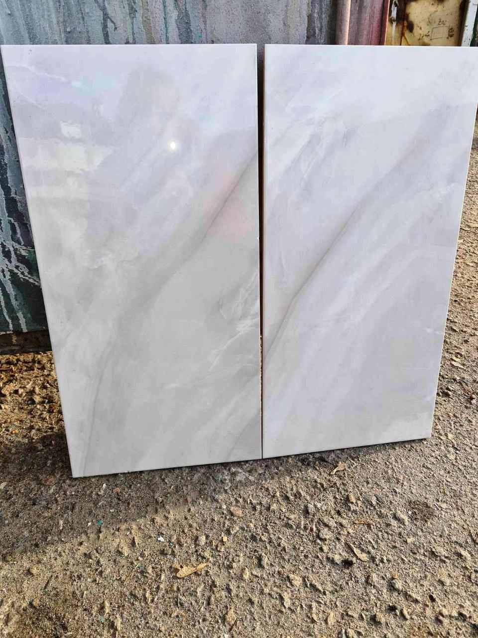Плитка настенная глазурованная глянец Lazurit светлый 300x600 мм Кафель для Стен под Испанский Мрамор