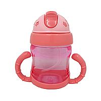 """Поильник-чашка """"Мини"""" (розовый), фото 1"""