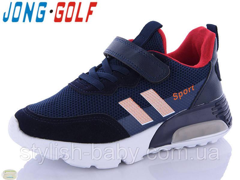 Детские кроссовки оптом. Детская спортивная обувь 2021 бренда Jong Golf для мальчиков (рр. с 32 по 37)
