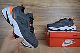 Кросівки чоловічі розпродаж АКЦІЯ 750 грн Nike M2K Tekno 41й(26см), 44й(28см) копія люкс, фото 9