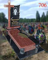 Комплекс - пам'ятник з хрестом, фото 1