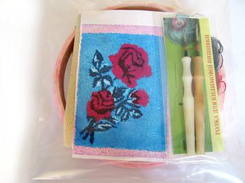 Набор Универсал для «ковровой вышивки»  2 иглы «Роза» Разноцветный (34)
