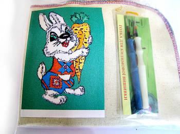 Набор Универсал для «ковровой вышивки»  2 иглы «Заяц» Разноцветный (38)