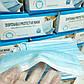 Медицинские маски 50шт(пропаяные) трехслойные одноразовые, фото 2