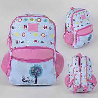Рюкзак школьный С 43515 (50) 1 отделение, 2 кармана, мягкая спинка, в кульке РАСПРОДАЖА!