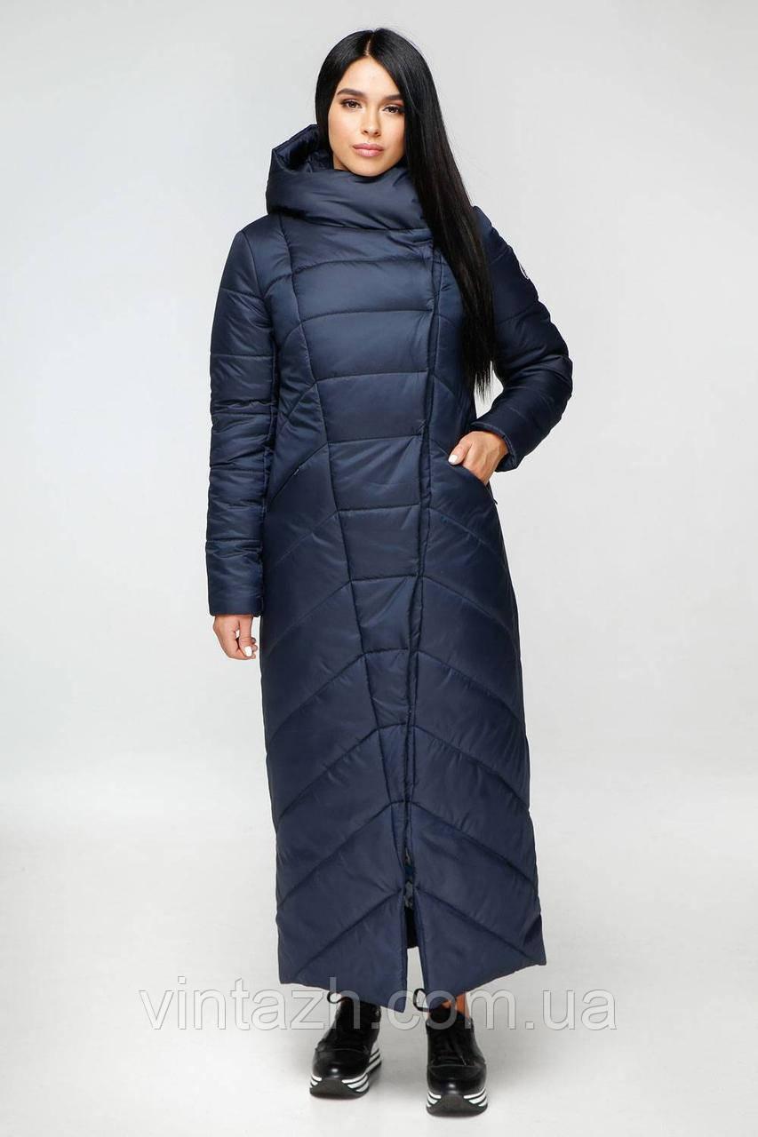 Зимняя женская теплая модная куртка размеры 44-56